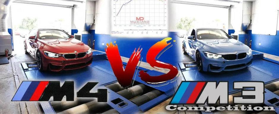 Ambele masini au motoare de trei litri sub capota, dar le desparte o dotare importanta. Cum afecteaza aceasta puterea maxima