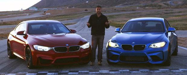 Ambele sunt intruchiparea placerii de a conduce. Unul reuseste sa atinga insa perfectiunea. M2 sau M4?