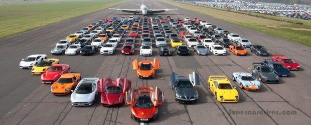 Ambuteiaj cu 150 de masini pe un circuit