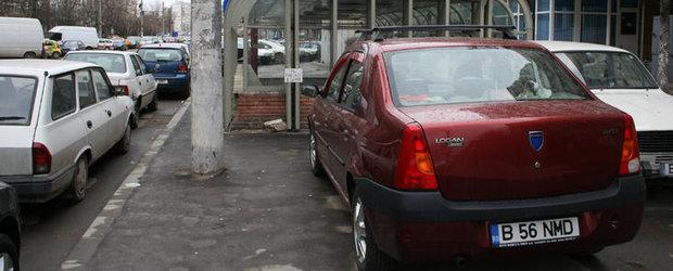 Amenzi pentru soferii care blocheaza masinile parcate regulamentar
