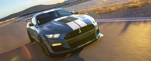 Americanii au lansat Mustangul pe care si-l doreste oricine. Are 811 CP si toti pe puntea spate