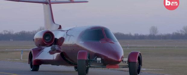 Americanii care au transformat un avion privat intr-o limuzina de lux. Cati bani i-a costat toata distractia