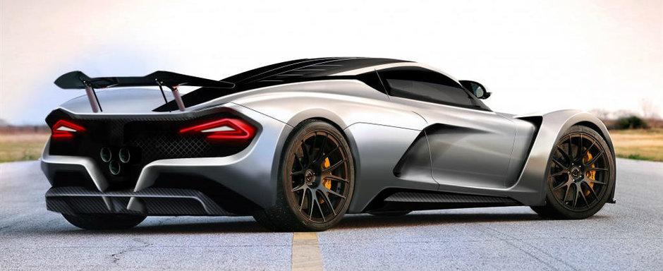 Americanii de la Hennessey vor lansa un nou hypercar. Acesta va atinge peste 450 de km/h si va fi numit Venom F5