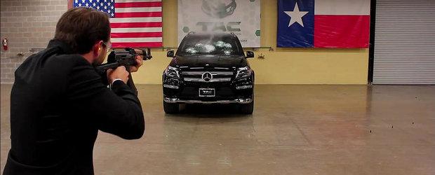Americanii ne arata cum se testeaza o masina blindata