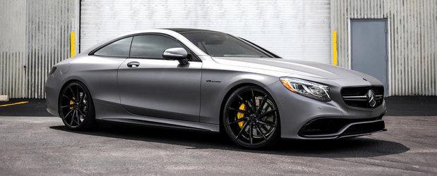 Americanii ne incanta privirile cu un super-S63 AMG Coupe gri mat