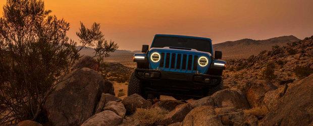 Americanii tocmai au publicat imaginile. Acesta este noul Jeep Wrangler cu motor V8 HEMI
