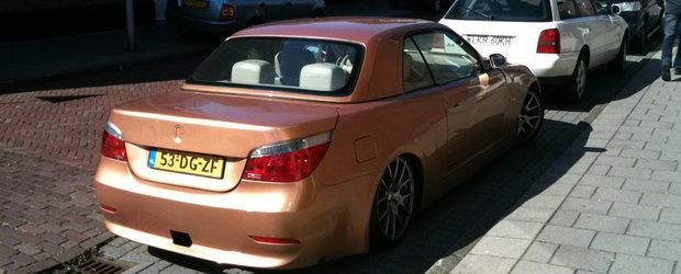 Amestec serios de generatii - BMW E36 cu fata de E90 si spate de E60