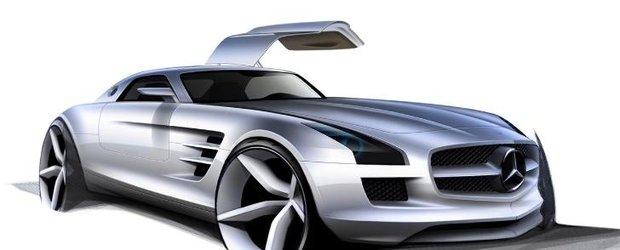 AMG anunta lansarea unui baby-SLS, independent de marca Mercedes-Benz