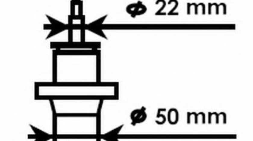 Amortizor SKODA OCTAVIA II Combi (1Z5) (2004 - 2013) KYB 334834 produs NOU