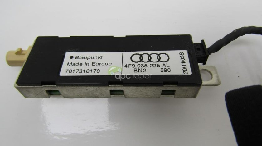 Amplificator antena Audi A6 4F Facelift 2010 - 2,0Tdi cod 4F9035225AL/AA