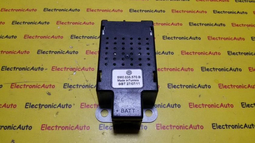 Amplificator antena VW Golf 6 5M0035570B, 5M0 035 570 B