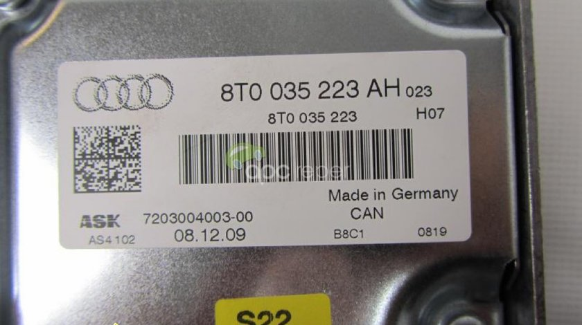 Amplificator Audi A4 8K A5 8T Q5 8R cod 8T0035223AH