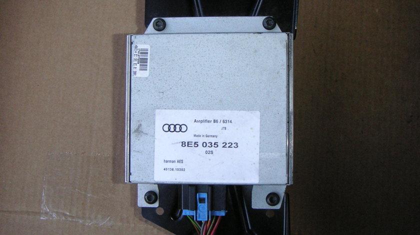 Amplificator Audi A4 B6 (2000-2004), B7 (2004-2008) cod 8E5035223