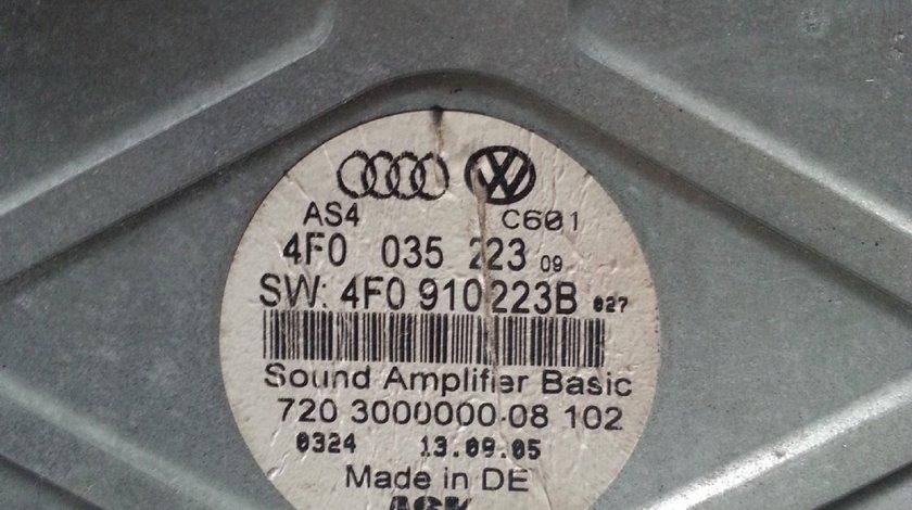 Amplificator AUDI A6 C6 4F0035223