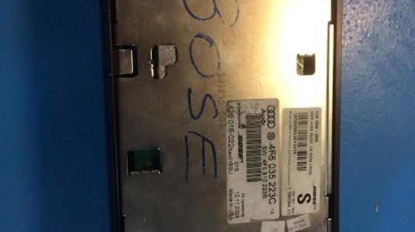 Amplificator audio Bose original AUDI A6 4F C6 2004-2011 cod: 4F5035223C / 4F5910223B