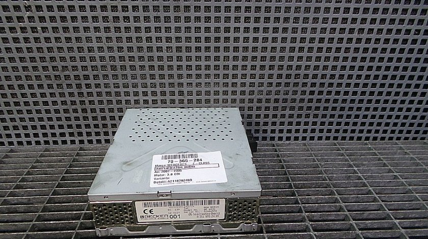 AMPLIFICATOR AUDIO MERCEDES E-CLASS E-CLASS 3.0 CDI - (2002 2006)