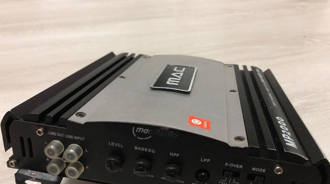 Amplificator auto Mac Audio MPX2000