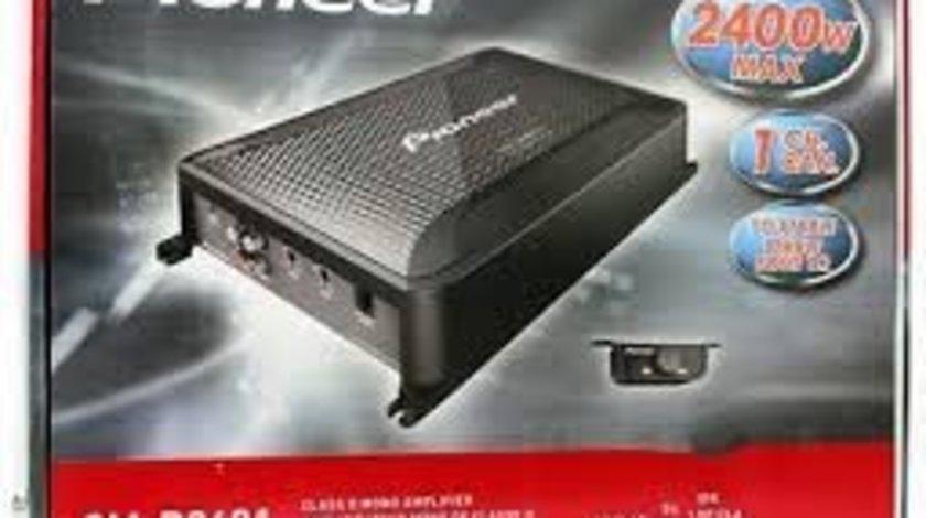 Amplificator auto Pioneer GM-D9601, mono, 2400 W