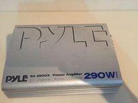 Amplificator Auto Statie PYLE 290W Subwoofer