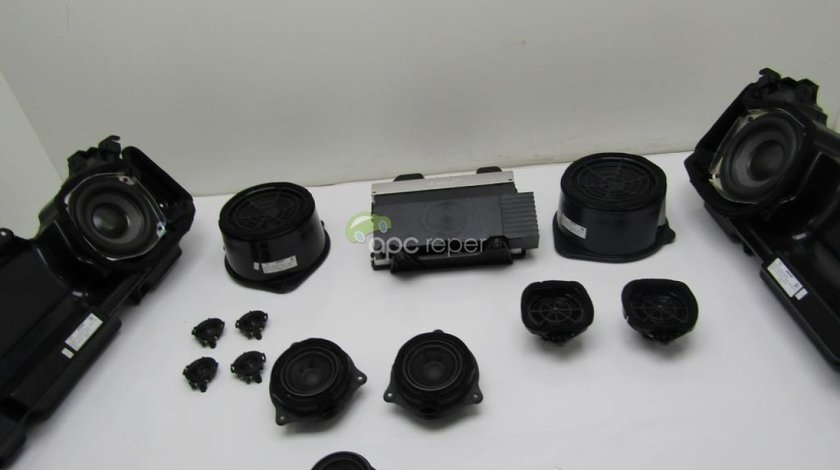 Amplificator Bose ( cod 4F0035223P) + set difuzoare Bose Audi A6 4F Facelift 2010 - 2,0Tdi