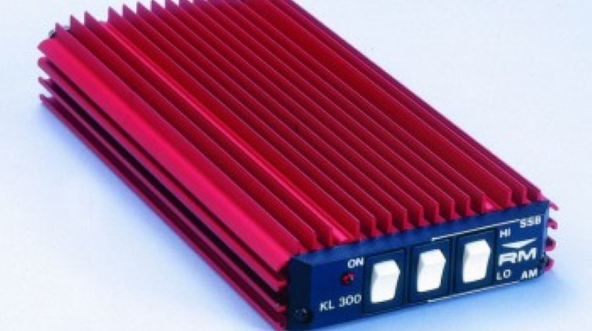 Amplificator liniar DE STATII KL 300 24 de 300 Watt in SSB si 150 Watt in FM alimentare 24V