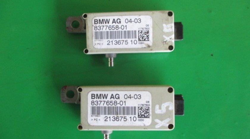 AMPLIFICATOR / MODUL ANTENA COD 8377658-01 BMW X5 E53 FAB. 2000 - 2006 ⭐⭐⭐⭐⭐