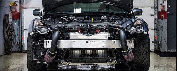 AMS Alpha 16: Cum arata un Nissan GT-R de peste 1.600 CP la roti!