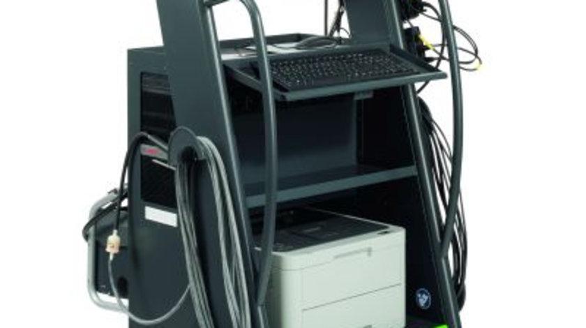 Analizor BOSCH BEA 950 UNI S1 + set opacimetru (pentru motor pe benzina si diesel)