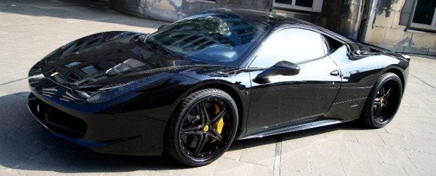 Anderson Germany ne tenteaza cu Ferrari 458 Black Carbon Edition