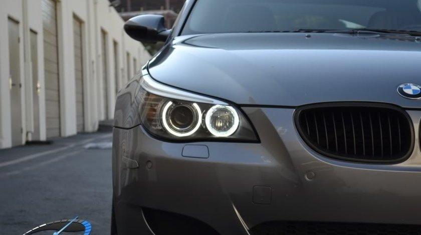 Angel Eyes BMW E60 E61 LCI Facelift Halogen LED Marker 20W CREE LED