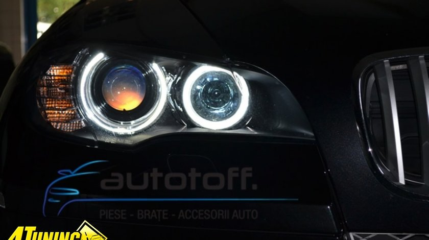ANGEL EYES BMW E60, F10, X5, X6,- LED MARKER H8 - SUPER BRIGHT!!! NOU!