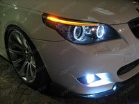 Angel Eyes BMW E61 touring LCI Halogen LED Marker 20W CREE LED