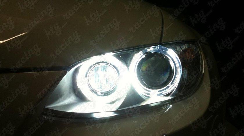 ANGEL EYES BMW E90 E91 FAR XENON FACELIFT LCI 2009-2011 BMW LED MARKER H8 80W