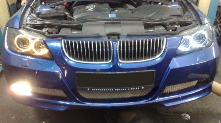 Angel eyes bmw E90 e91 led marker ALBE radiator Aluminiu