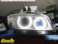Angel Eyes Bmw E91 facelift ( varianta breack variant e90 ) Led Marker H8 120w