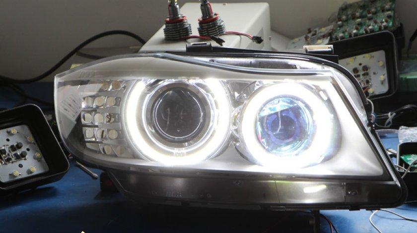 Angel Eyes Bmw E91 facelift ( varianta breack variant e90 ) Led Marker H8 120w