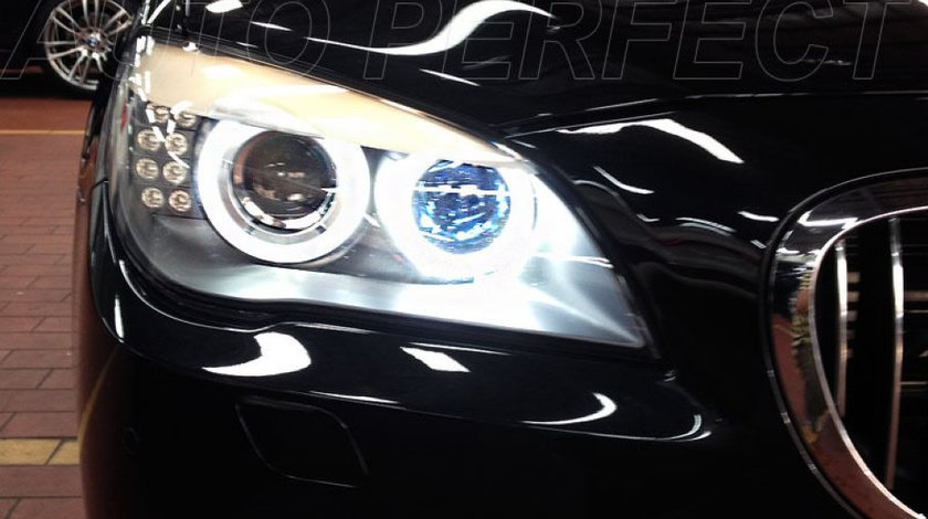 Angel Eyes Bmw F01 Led Marker H8 120w