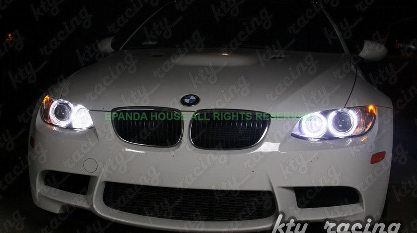 Angel Eyes BMW seria 1 e82 e81 e87 e88 Led Marker H8 80W