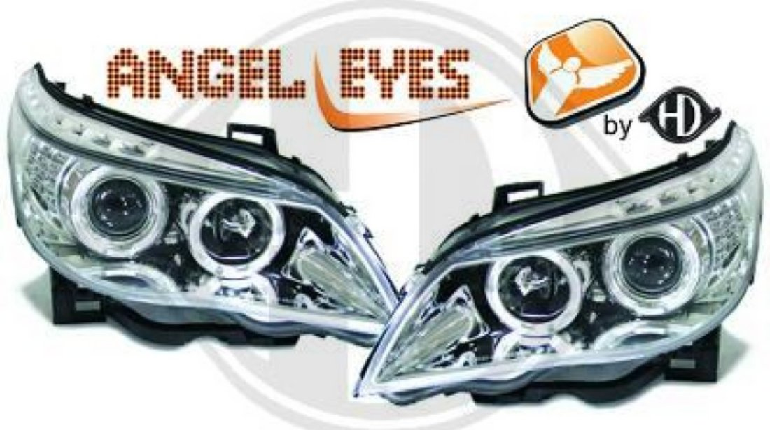 ANGEL EYES BMW SERIA 5 E60 - FARURI ANGEL EYES BMW E60
