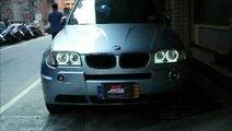 Angel eyes BMW X3 E83 2006 2010 Led Marker 90W ⭐...