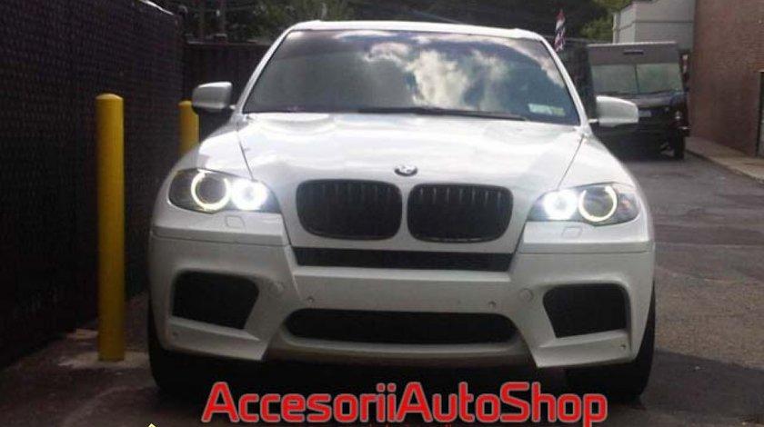 Angel Eyes BMW X5 E70 X6 E71 CEL MAI PUTERNIC 80 W FIECARE BEC TRANSPORT GRATUIT