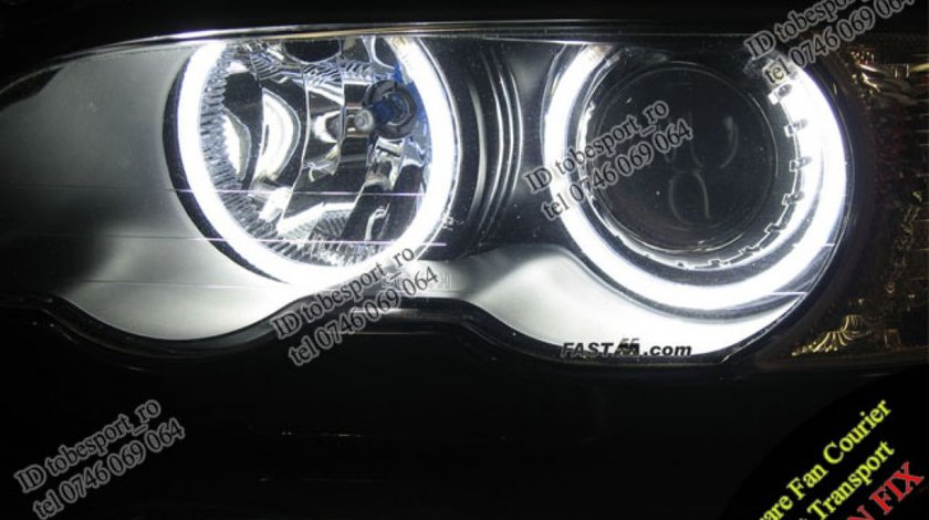 Angel Eyes CCFL BMW E46 Sedan Coupe Compact doar 33 Euro