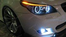 Angel eyes E60 Led Marker 10w 800 Lumeni Bmw E60 n...