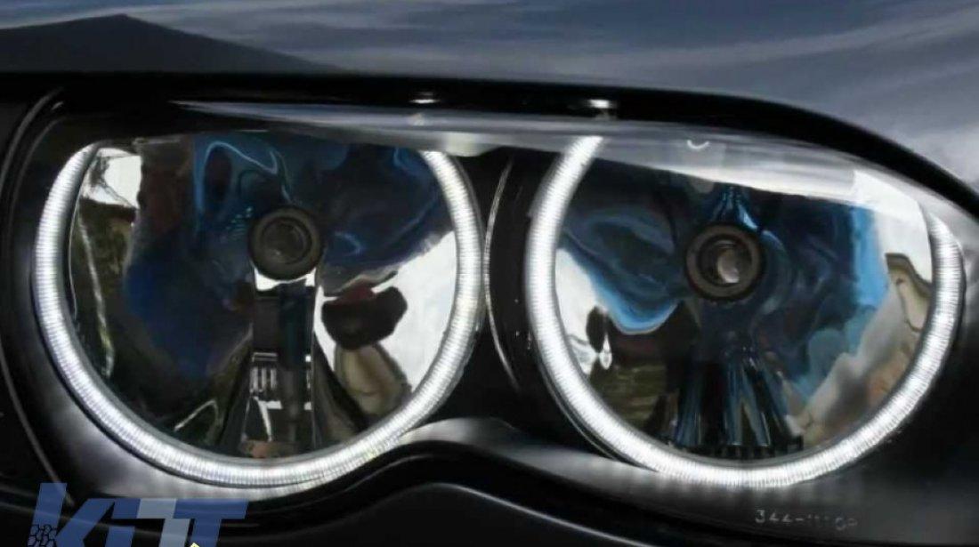 Angel Eyes Kit BMW Seria 3 E46 1998 2005 SMD LED