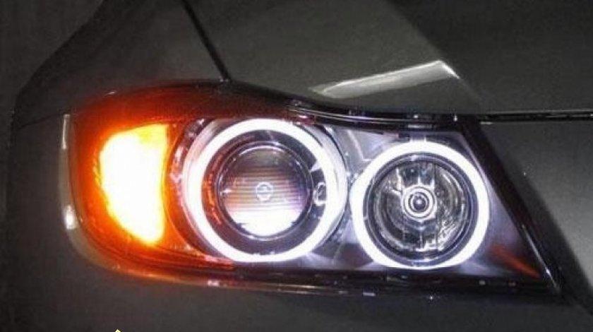ANGEL EYES LED BMW SERIA 3 - E90,E91,E92,E92,E93 - LED MARKER H8 4LED - SUPER BRIGHT