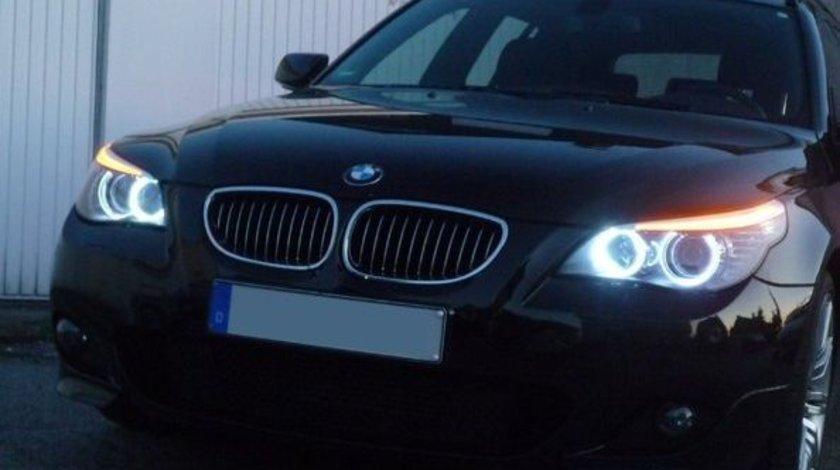 Angel Eyes LED Marker BMW E60 E61 LCI Facelift Halogen LED Marker 20W CREE LED