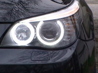 ANGEL EYES LED MARKER BMW E60 FACELIFT NEW 6S H8 80W 3200 LUMENI