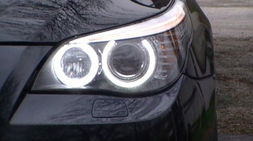 ANGEL EYES LED MARKER BMW E60 FACELIFT NEW 6S H8 80W 3200 LUMENI