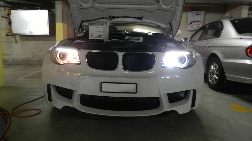 ANGEL EYES LED MARKER BMW E88 NEW 6S H8 80W 3200 LUMENI