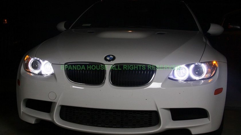 ANGEL EYES LED MARKER BMW NEW 6S H8 80W 3200 LUMENI MODEL NOUA GENERATIE 2016 RACIRE CUPRU